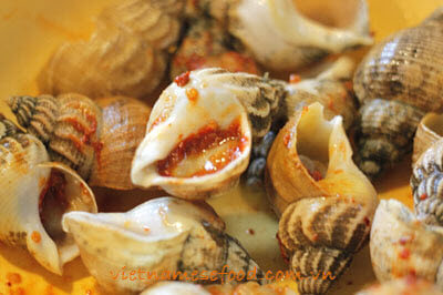 Grilled Snails with Salt and Chili Recipe 3