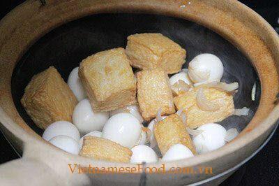 Step 3 Braised Tofu with Quail Eggs Recipe 3