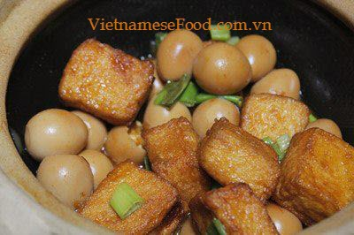 Step 4 Braised Tofu with Quail Eggs Recipe 4