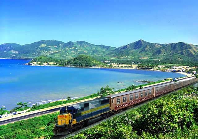Travel by train in Vietnam