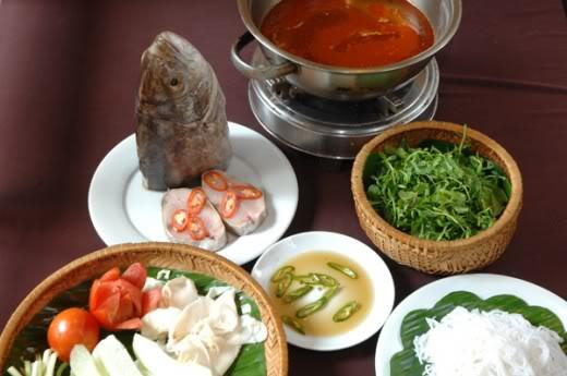 Grouper Fish Hotpot – Lau Ca Mu