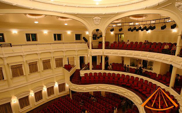 Inside of Saigon Opera House
