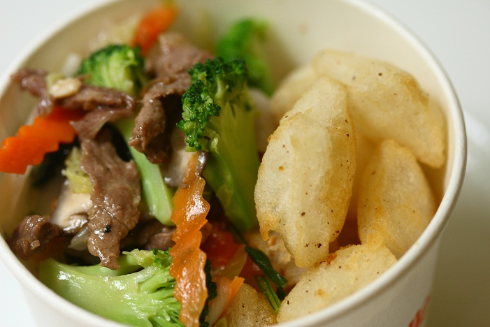 Fried Pho Noodle (Phở Chiên Phồng)