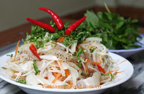 Jelly Fish Salad Recipe (Gỏi Sứa)