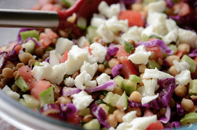 Lentil Salad Recipe (Salad Đậu Lăng)