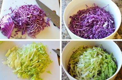 Salad Apple with Purple Cabbage Recipe (Salad Táo và Cải Tím)