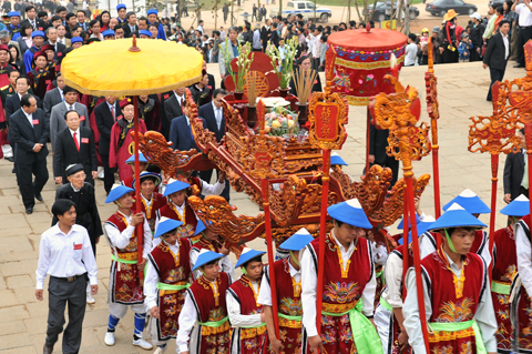 The Hung Kings Temple Festival (The Death Anniversary of The Hung Kings)